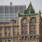 The 1896 vintage Beaux-Arts building at 150 Nassau Street in New York is one of the city's original steel frame structures. (courtesy Boston Valley Terra Cotta)
