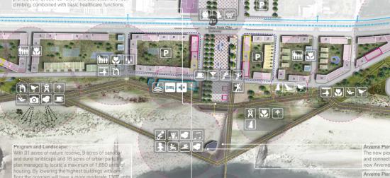 Proposal by White Arkitekter (Courtesy of White Arkitekter)