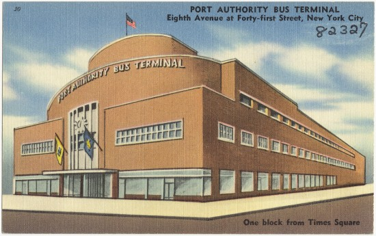 Port Authority Bus Terminal (Boston Public Library / Flickr)