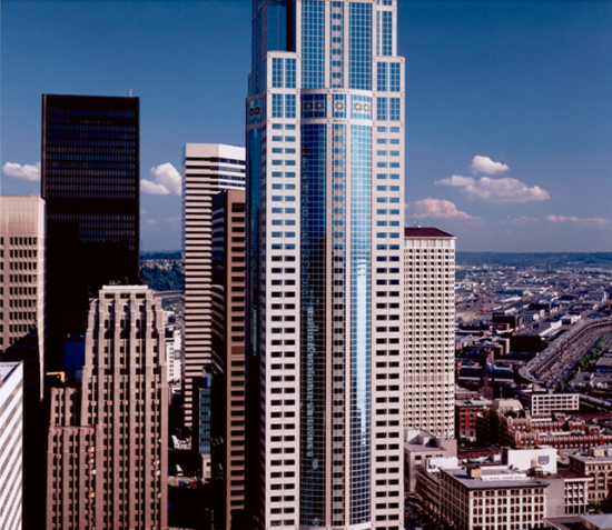 One of John Tawresy's most notable projects includes the Washington Mutual Tower.