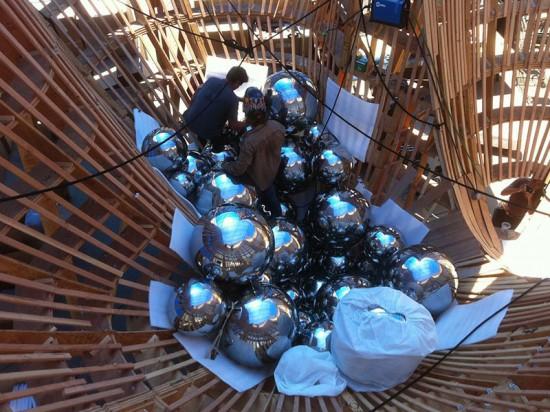 Talus Dome was fabricated upside down. (Benjamin Ball)