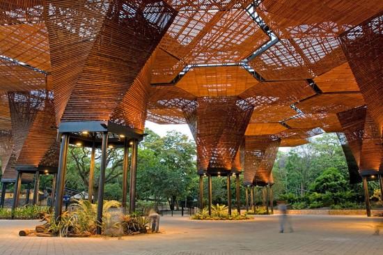 Orquideorama Botanical Garden, Medellín, Felipe Mesa, plan:b arquitectos. (Sergio Gomez)