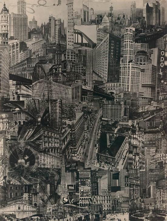 Paul Citroen. Metropolis, 1923. (Courtesy Paul Citroen / ARS)