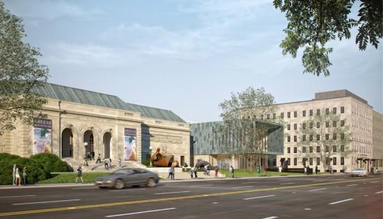 Columbus Museum of Art's new wing. (DesignGroup)