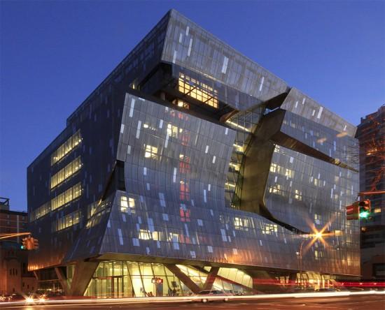 Cooper Union's Engineering Building designed by Morphosis. (Drew Dies / Flickr)