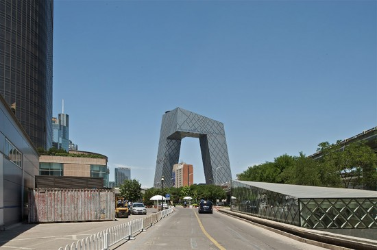 CCTV, Beijing, China. (Philippe Ruault / Courtesy OMA)