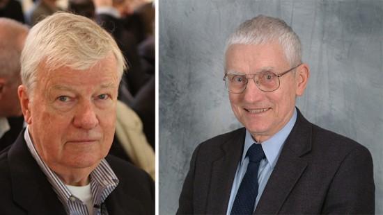 Henry Cobb, left. Clyde Baker, right. (Courtesy CTBUH)