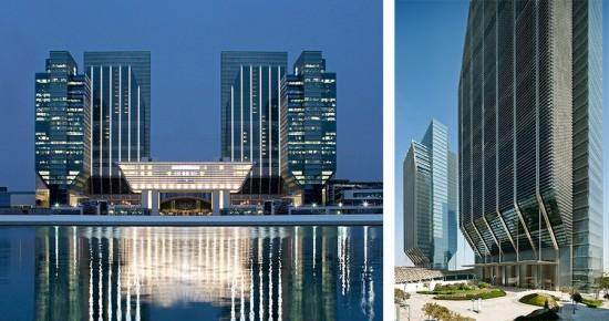 Sowwah Square, Abu Dhabi, UAE. (Courtesy Mubadala Real Estate; Lester Ali)