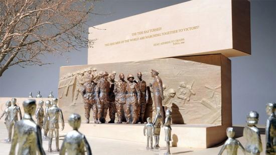 (Courtesy Eisenhower Memorial Commission)