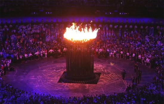 The 2012 Olympic Cauldron by Thomas Heatherwick. (Courtesy Thomas Heatherwick)