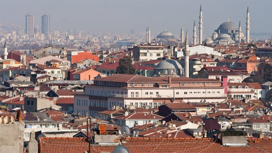 Urbanization is changing Istanbul's skyline. (Black.Dots / Flickr)