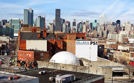 MoMA PS1 in 2012. (Elk Studios)