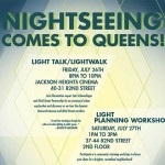 Friday> NightSeeing Light Walk in Queens