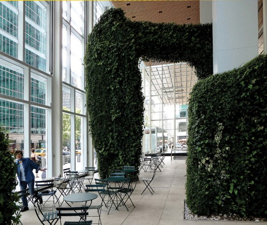 Urban Garden Room in the Bank of America Tower. (Courtesy Norton Architecture and Design Books)