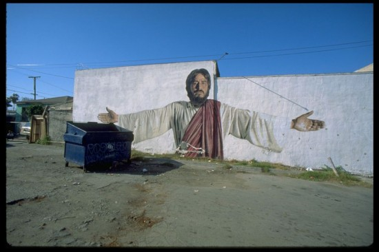 111th Street Jesus, Kent Twitchell (Mural Conservancy of Los Angeles)