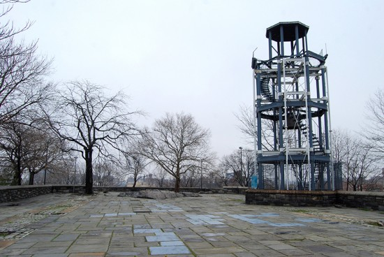 The Harlem Fire Watchtower (Courtesy Paul Lowry)