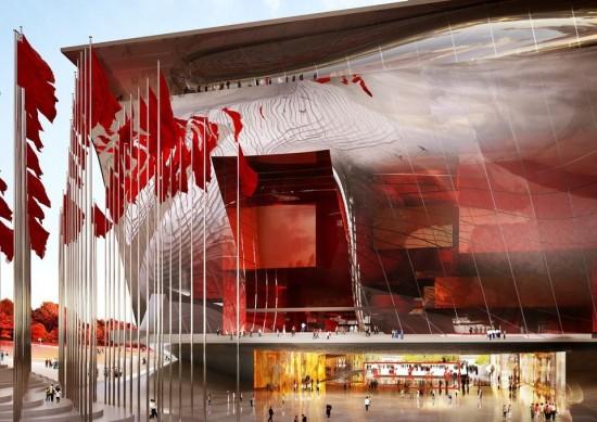 (Courtesy Beijing Institute of Architecture Design).