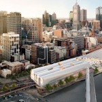 The Train Station and Civic Center Meet in a Central Plaza (Courtesy Herzog & de Meuron)