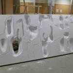 Molds were formed from Styrofoam. (Phil Arnold)