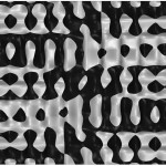 He ran multiple iterations of buckling deformations. (courtesy Justin Diles)