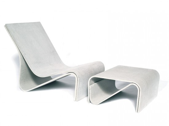 Sponeck Chair & Table from GreenForm