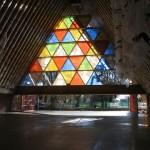 Cardboard Cathedral (Courtesy Shigeru Ban Architects)