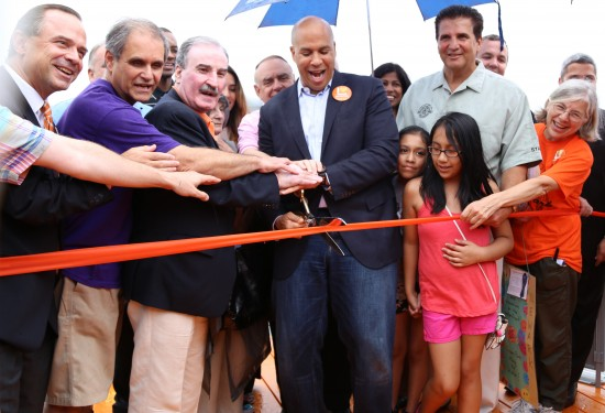 Newark Riverfront Park Opening (Courtesy of the City of Newark)