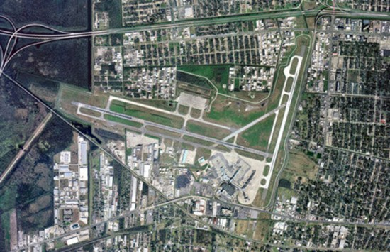 2005 Aerial View of Louis Armstrong Airport (Courtesy of Louis Armstrong International Airport)