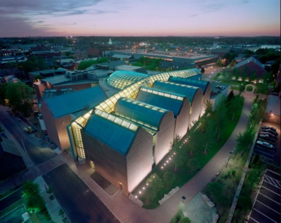 Peabody Essex Museum (Courtesy of Safdie Architects)