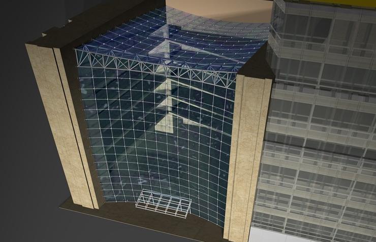 High Performance Glass Facade : Enclos high performance facades series focuses on glass