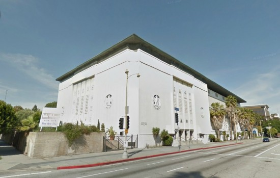 Millard Sheets' Masonic Temple. (Courtesy Google)