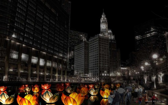 The Great Chicago Fire Festival. (Courtesy ArtPlace America)