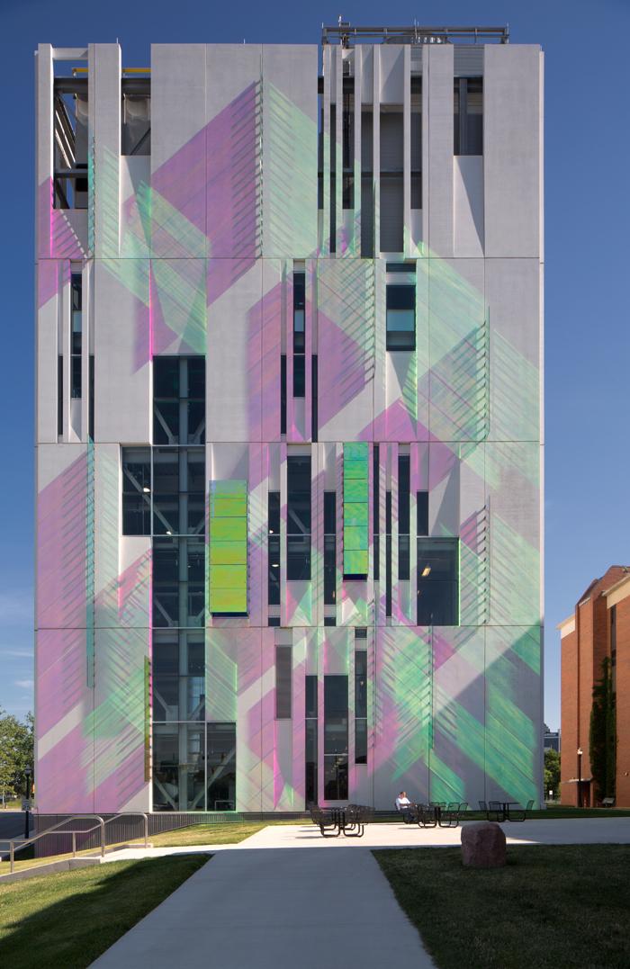 Ross Barney Architectsu0027 OSU Chiller. (Courtesy Ross Barney Architects)