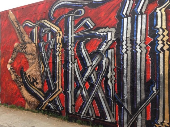 Drifting on a Memory, by RETNA & NUNCA (Mural Conservancy of Los Angeles)