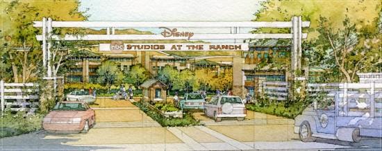 Entrance rendering (Disney)
