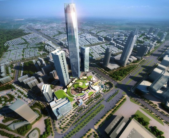 Dongguan International Trade Center (Courtesy 5+Design)