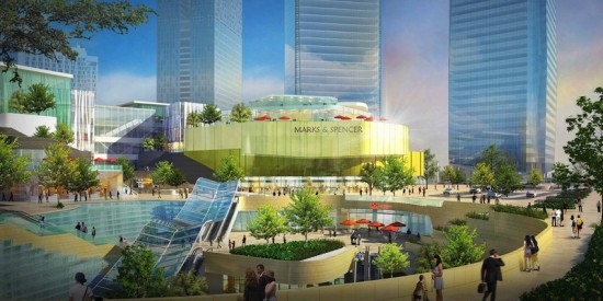 DITC Retail Complex Exterior (Courtesy 5+Design)