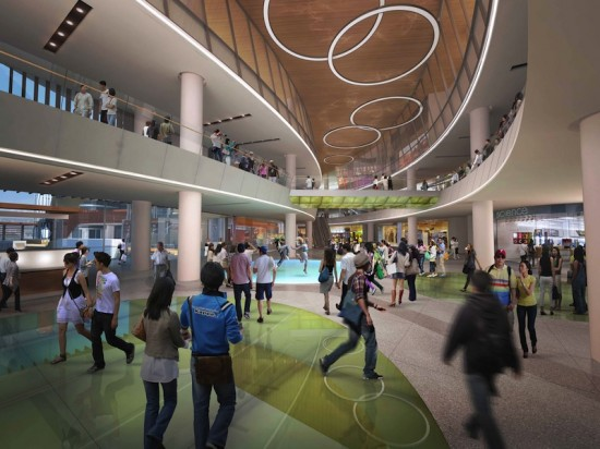 DITC Retail Complex Interior (Courtesy 5+Design)