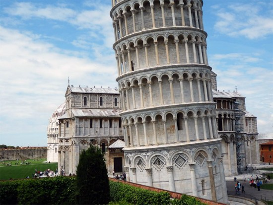 Leaning Tower of Pisa. (Eric Meyer / Flickr)