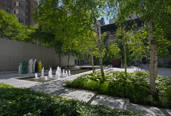 The Abby Aldrich Rockefeller Sculpture Garden at MoMA. (Martin Seck)