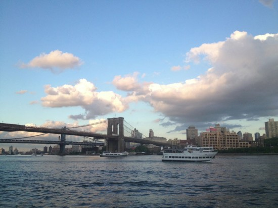View of East River. (Nicole Anderson/AN)