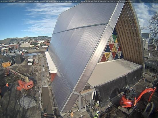 Site Webcam (Courtesy snowgrass.co.nz)