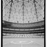 Interior view south toward movable field seats. (Jet Lowe, Courtesy Library of Congress)