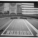 Interior view looking west. Note lamella dome framing. (Jet Lowe, Courtesy Library of Congress)