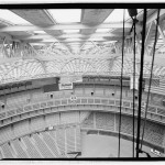 View from cupola into roof truss and seating. (Jet Lowe, Courtesy Library of Congress)