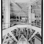 Structural detail at crown showing partial view of compression ring. (Jet Lowe, Courtesy Library of Congress)