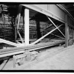 Substructure of movable seating. (Jet Lowe, Courtesy Library of Congress)