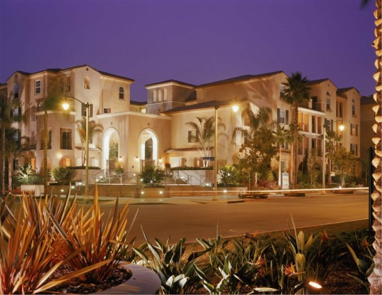 A street view at Playa Vista (tk)