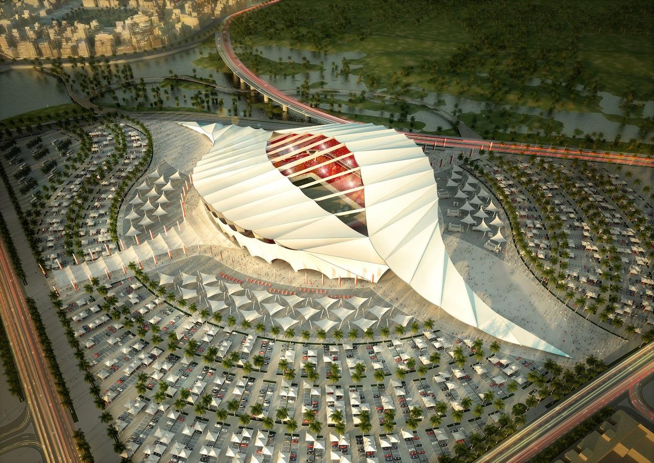 Proposed Al Khor Stadium (Courtesy Architecture of Life, Flickr)