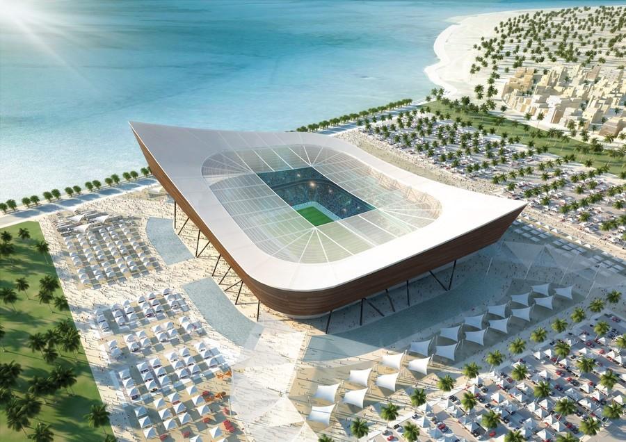 Proposed Al Shamal Stadium, Qatar (Courtesy 50stadiums, Flickr)